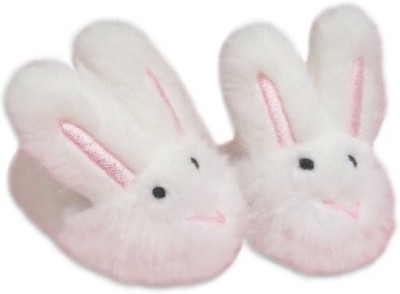 Sophias White Bunny Slippers, Sized for 18 Inch, Like American Girl, Doll Accessories by My Life  - 20 inch