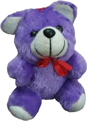 Ekku Purple Teddy  - 6 inch