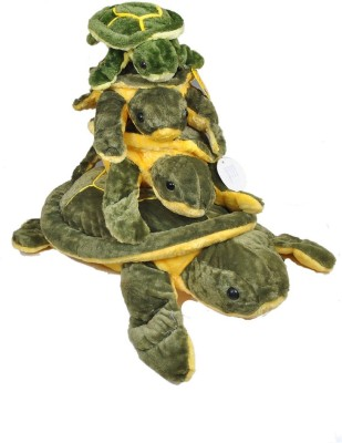 NRN TOYS Combo of 4 Turtle Small to Big  - 20.32