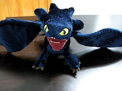 Dreamworks How To Train Your Dragon Deluxe Night Fury Toothless