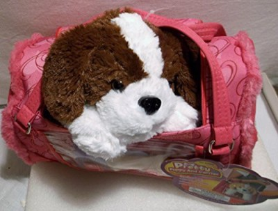 Polyfect Toys Pretty Puppy And Carrier