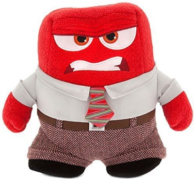 Pixar Anger Plush Disney Inside Out Small 8 1/2,,