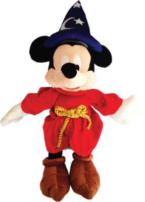 Disney Mickey in magician plush - 40 cm  - 40 cm