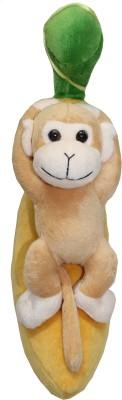 Tipi Tipi Tap Banana Monkey Soft Toy  - 10 inch