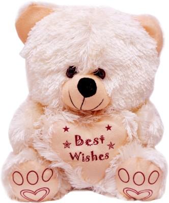 Vpra Mart Best Wishes Cream Teddy Bear  - 35 cm