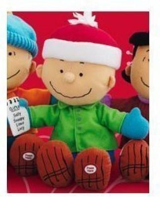Hallmark Peanuts Xkt5002 Picking The Perfect Gift Charlie Brown Gang Techno