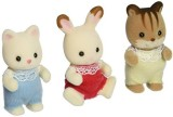 Calico Critters Ba Friends Triplets (Whi...