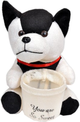 NRN TOYS Cute Dog cum Penstand  - 15.24