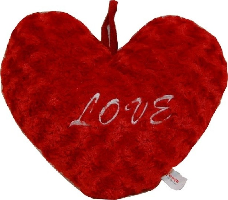Surbhi Huggable Heart  - 13.4 inch(Red)