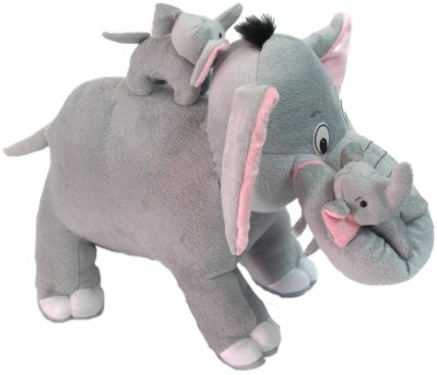 Tickles Elephant with Two Babies  - 48 cm