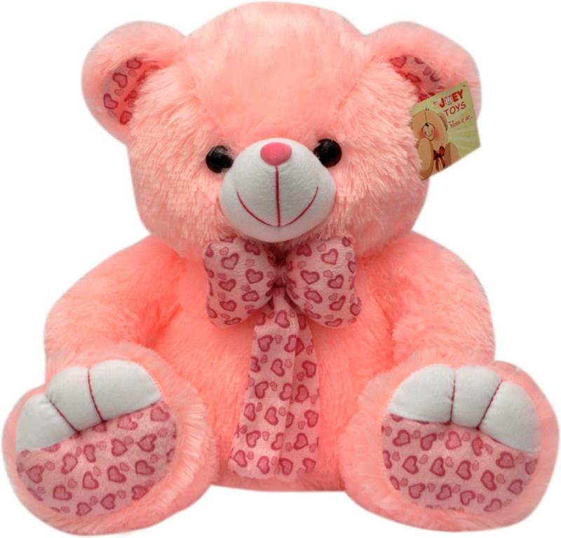 Joey Toys Soft Teddy 50cm  - 19.6 Inch(Pink)