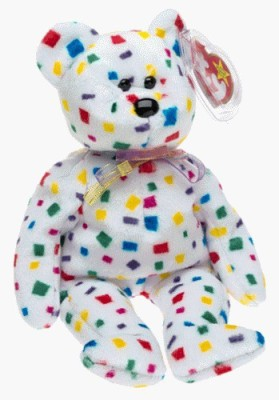 TY Beanie Babies 2K The Bear (Retired)
