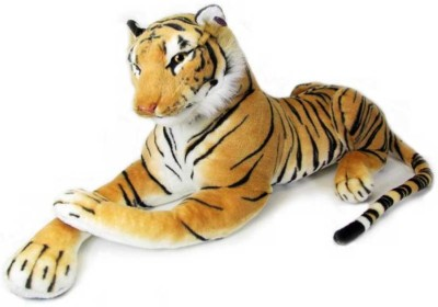 Deals India Giant Stuffed Tiger Animal  - 47 cm