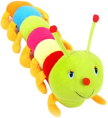 GoodLivingForever Multi-color Caterpillar Soft Toy  - 16