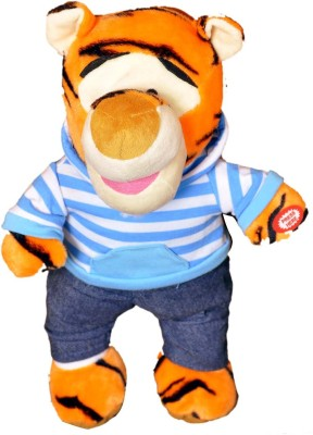 VRV Multicolour soft toy cute Tiger-Sherkhan  - 25 cm