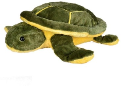 Prro Green Silky Cotton Turtle Soft Toy  - 20 cm