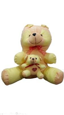Ekku Mother Panda with Baby  - 13 inch
