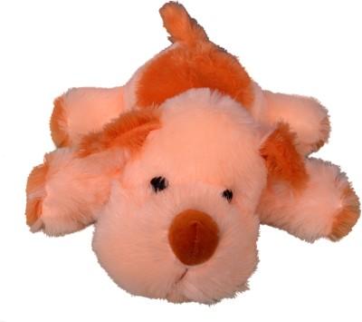 Funtastik Beige Cute Sleeping Dog  - 42 cm