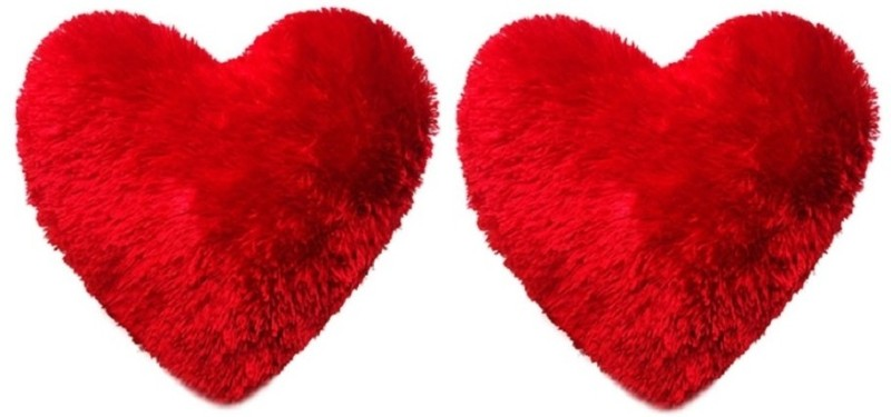 ANNI CREATIONS Sweet Heart  - 14 Inch(Red)