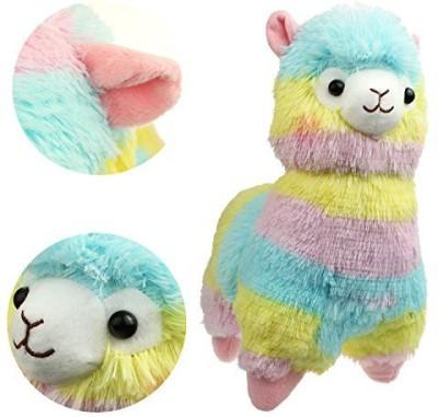 KSB 14,, Rainbow Plush Alpaca,Cute Plush Animals Dolls
