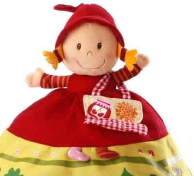 HABA Lilliputiensred Riding Hood Reversible Storybook Doll