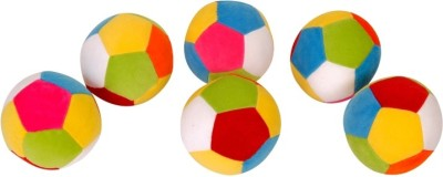 Dream Deals Dream Deals Colourful Ball 4 inch(Pack of 6)  - 4 inch