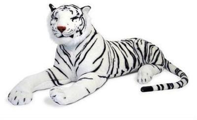 VRV VRV Soft Tiger White  - 20 cm