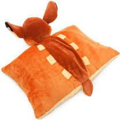 Disney Parks Bambi Pillow Pal Plush Pet Doll  - 7 inch