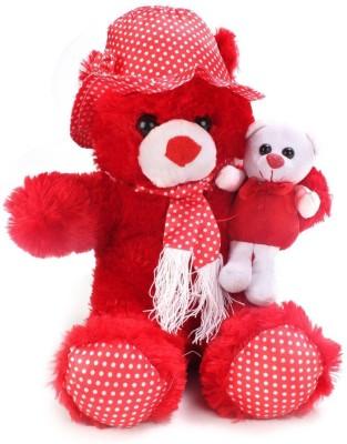 Tickles Cute Teddy with kid  - 70 cm
