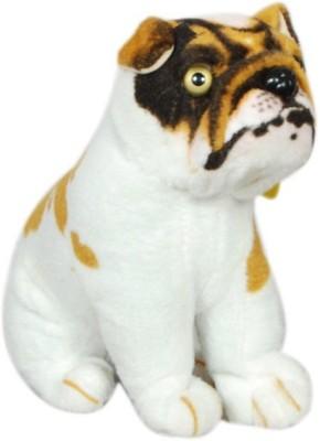 VRV Bulldog dog soft plush stuffed toy  - 20 cm