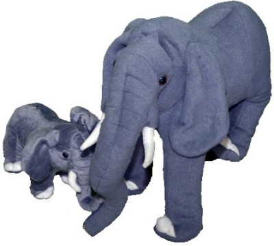 Gifts & Arts Soft Elephant With Baby  - 40 cm