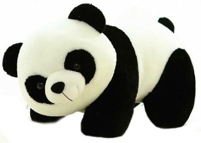 TANISI Panda Stuffed Soft Plush Toys  - 26 cm(Black, White)