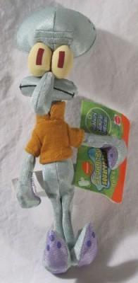 SpongeBob SquarePants Squidward 8In Plush Doll