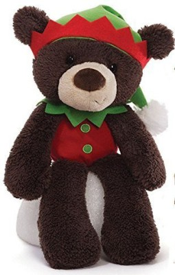 Fuzzy Elf Brown Christmas Plush From Gund