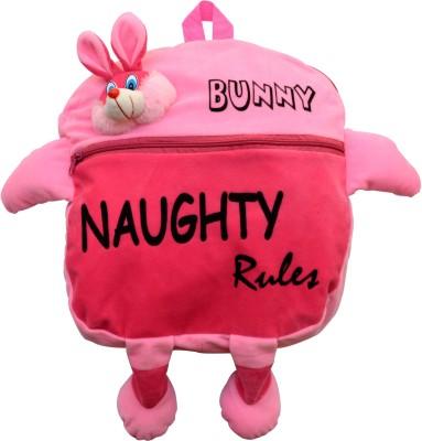 Funtastik Pink Naughty Bunny Design Kids Bag  - 40 cm