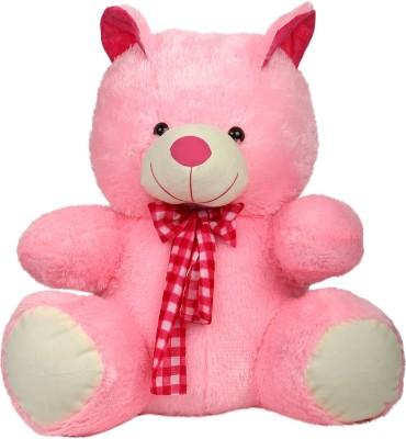 Aastha Toys Stuffed  - 29 inch(Pink, White)