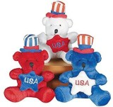 Fun Express Patriotic Plush Bears (1 Doz...