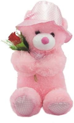 Nb Phoenix Cute Teddy With A Rose Love Boy Girl Friend Gift  - 53 cm