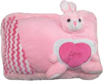Tickles Rabbit Cushion With Heart  - 25 cm