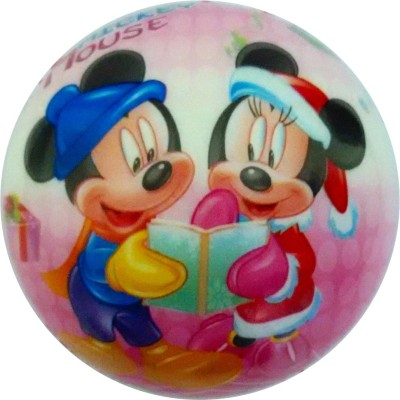 Lolprint 02 Mickey Mouse Soft Ball  - 4 inch