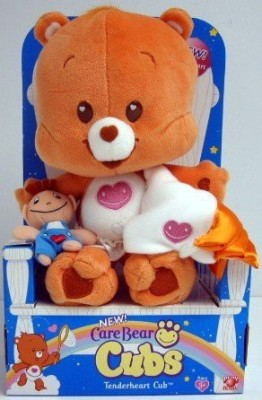 PA Distribution, Inc. Care Bear Cubstenderheart With Blankie And Teddy Bear