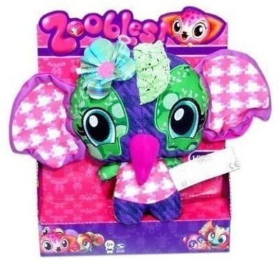 Spin Master Zoobals Pancake Plush Elephant Doll Windal