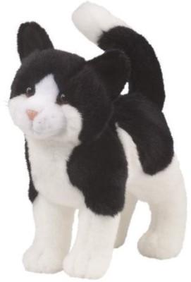 Douglas Cuddle Toys Scooter Black & White Cat