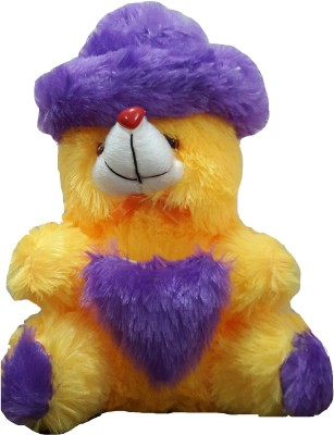 Ekku Teddy with Hat  - 7 inch