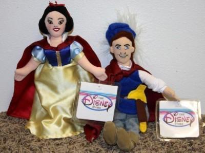Disney Retired Princess And Snow White And Snow White Prince Set