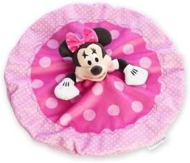 Disney Minnie Mouse Plush Blankie - 5 inch(Pink)