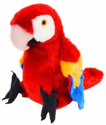 Wild Republic Cuddlekin Macaw Scarlet 12