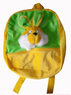 MGPLifestyle Multicolor Rabbit Picnic, School Bag for Kids  - 12 cm