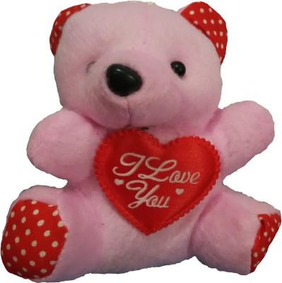Ekku Pink Teddy  - 4 inch
