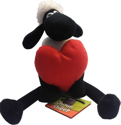Shaun the Sheep Valentine with Heart